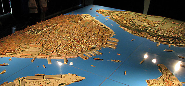 Scale Model of Old Havana