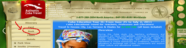 Booking a Tour with Authentic Cuba Travel