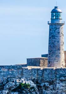 Photo of El Morro Castle in Havana