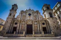 Cathedral Square in Havana.