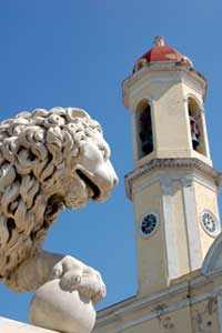 The Lions of Cienfuegos, Cuba