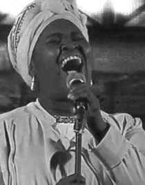 Dayme Arocena, playing at the first Havana Jazz Festival.