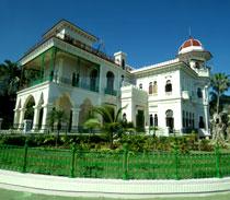 Palacio del Valle, one of Cuba's prettiest palace.